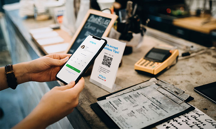 Use Case - Businesses - Cafe Checkout